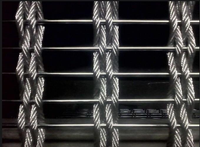 安平合股钢丝绳不锈钢装饰网价格