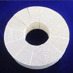 辐射管型陶瓷蓄热体