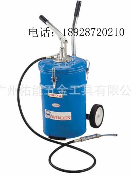 手动黄油加注机/润滑油脂加注设备/润滑脂加注机/手动黄油泵
