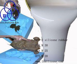 人造石工艺品模具硅胶、低熔金属工艺品模具硅胶、石蜡制品模具硅胶