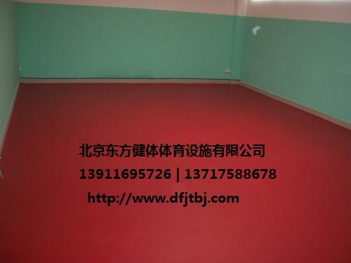 济南PVC室内地板就是 济南PVC室内运动场施工