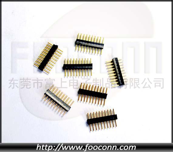 圆插针2.0mm圆排针 1*nP 180度插板
