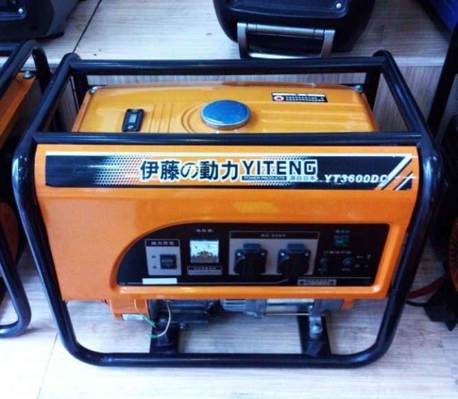 家庭用汽油发电机