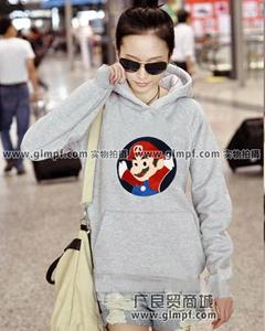 冬季韩版女式卫衣批发时尚冬季加绒卫衣