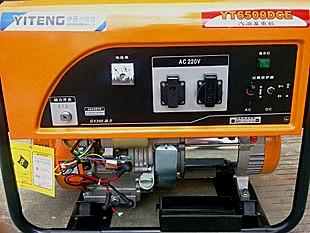 5千瓦工地常用汽油发电机