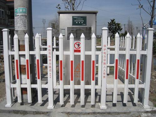 供应塑钢护栏,电力塑钢护栏,变压器护栏,箱变护栏