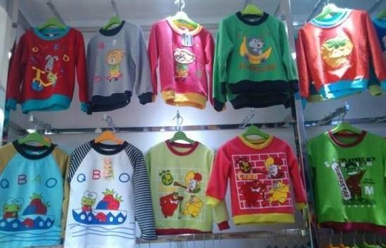 外贸儿童加绒牛仔裤外贸儿童韩版毛衣便宜儿童 棉服批发