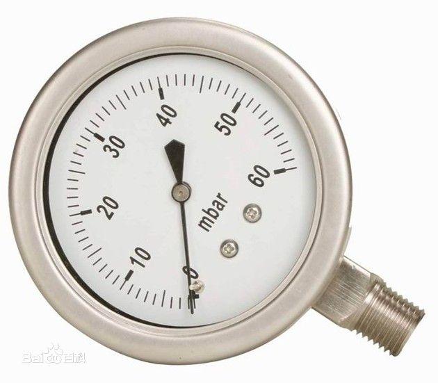 耐震压力表/煤气表