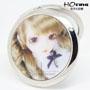 小商品批发货源-芭比娃娃化妆镜-时尚眨眼娃娃镜3D化妆镜