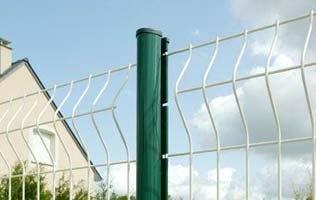 各种护栏网,三角折弯护栏