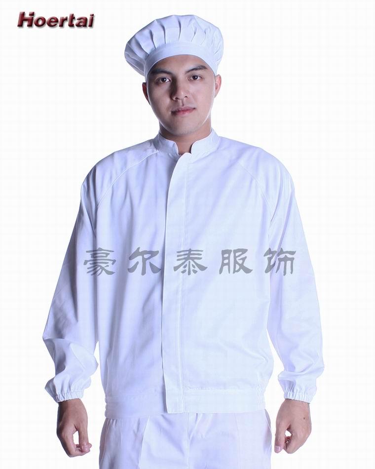深圳市豪尔泰服饰 供应食品工作服 HSP1301