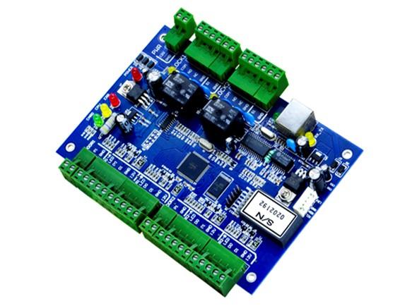 JLD202B-N   工业级双门双向门禁控制器
