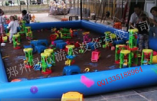 儿童大型充气沙池沙滩玩具沙池幼儿园沙池