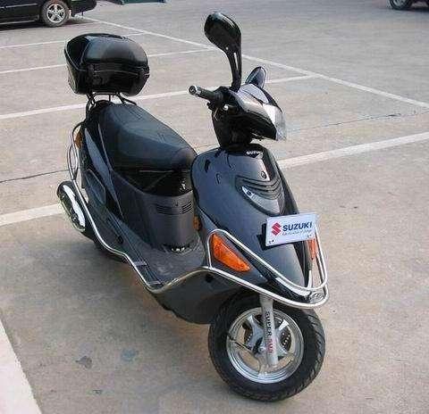 铃木HS125T海王星  踏板摩托车