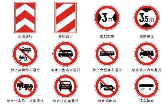 南宁限速标志牌,交通标志牌红昌科技专业定制