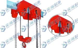 3吨低净空手拉葫芦3吨超低空组合手拉葫芦【低矮建筑专用】