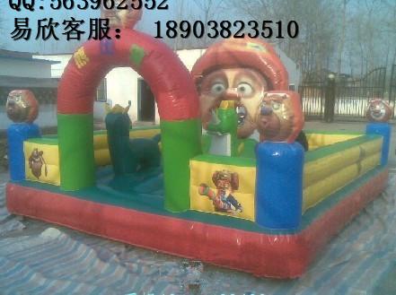 小孩大型充气玩具儿童充气攀岩