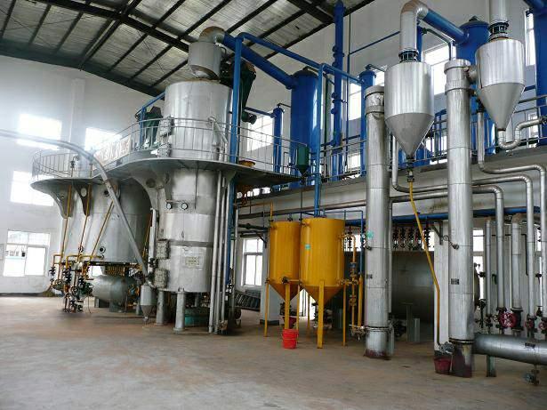 花生油精炼设备预处理工艺