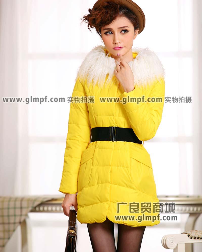 长款女装棉服批发时尚女装羽绒服