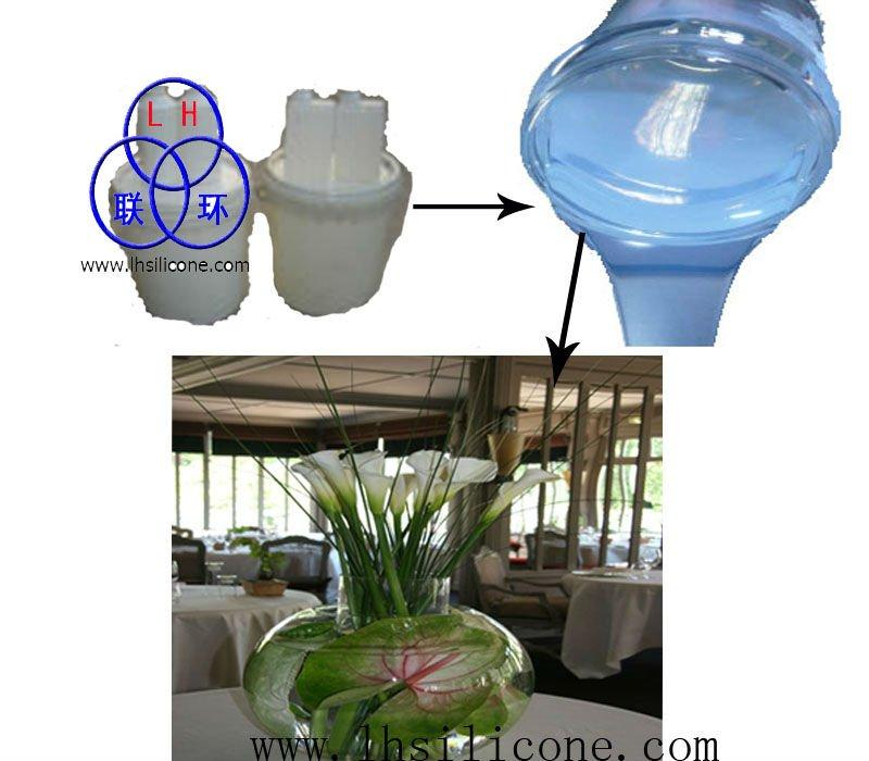 仿真插花专用假水,玻璃杯灌注假水胶(高透明)