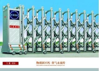 南宁电动门,电动伸缩门红昌科技描述其特点