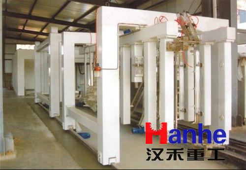 加气混凝土砌块设备的选型和数量根据工艺设计方案而确定