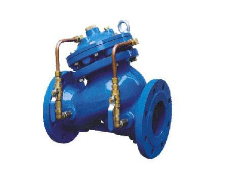 多功能水泵控制阀的基本结构