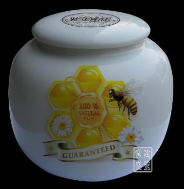 青花瓷陶瓷罐 密封罐奶粉罐 茶叶罐 蜂蜜罐 调味罐