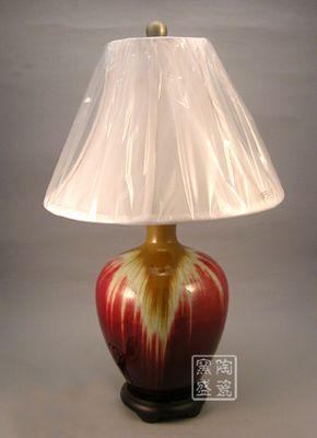 卧室床头欧式台灯 创意台灯 客厅时尚灯具 陶瓷台灯