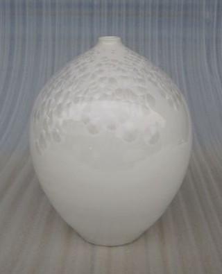 陶瓷瓶 结晶釉瓷瓶 家饰新房摆件 书桌摆设品