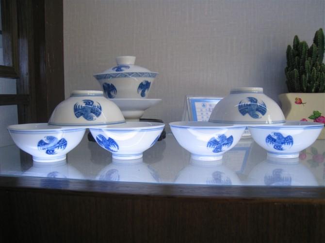陶瓷茶具 功夫茶具 带茶盘茶具套装