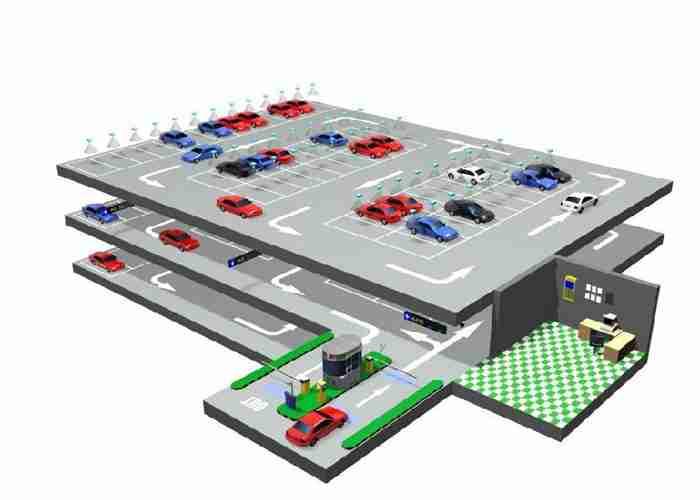 机场停车场管理系统图片
