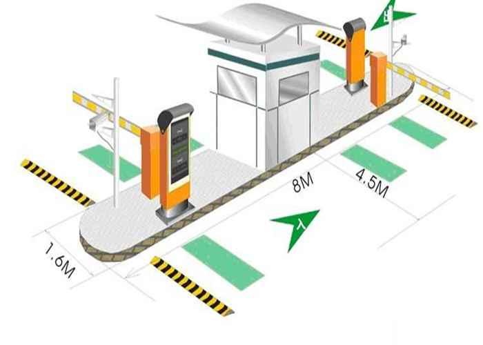 商场停车场管理系统图片