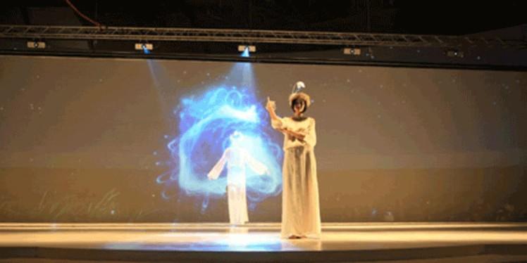 全息投影技术-3d全息投影-幻影成像-360全息展柜订制