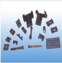 防滑减震橡胶垫板、轨道胶垫,钢轨橡胶垫板