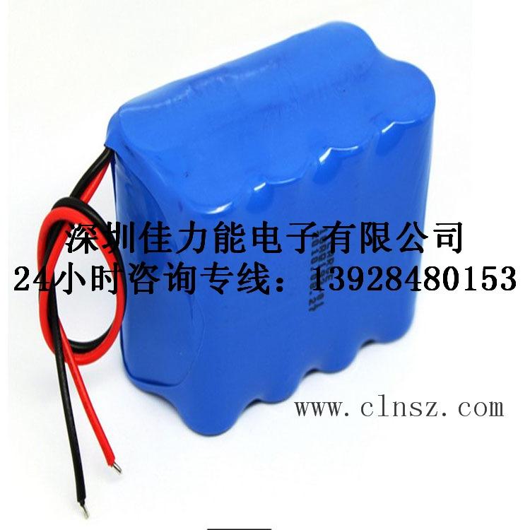 22.2V 11000mAh 数据采集仪 松下18650锂电池