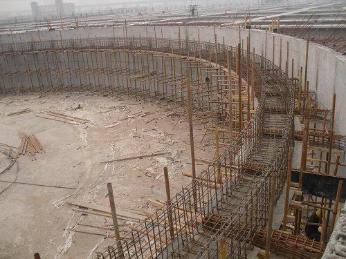 浓缩池工程 水池工程