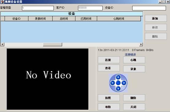 平安城市视频联网报警系统
