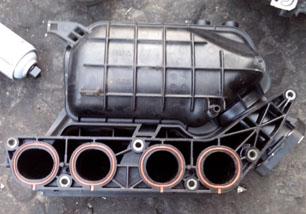 8代雅阁2.4进气支管 前桥 机盖 叶子板 发动机 原装拆车件