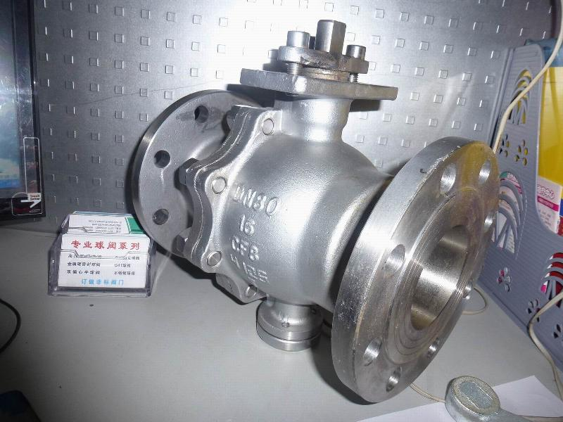 Q47F-16P|Q47F-16R不锈钢固定球阀