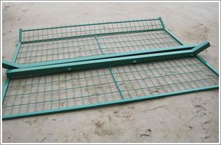 框架护栏网|焊接框架护栏网|8x16护栏网