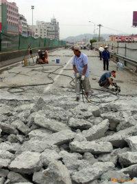 高架桥、路面改造剔除破碎液压分裂机