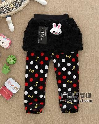 时尚儿童冬装批发便宜童装棉裤