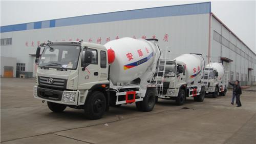 滁州市厂家直销6方福田牌混凝土搅拌车价格