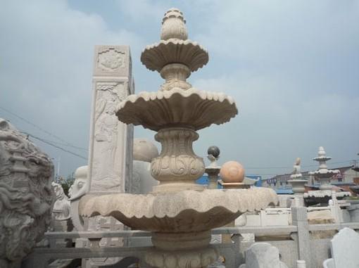 提供石雕喷泉