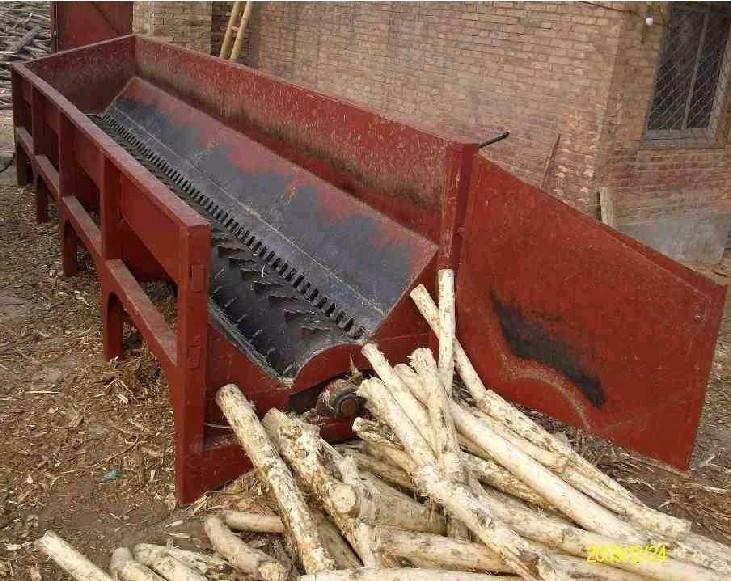 槽式木材剥皮机结构特点