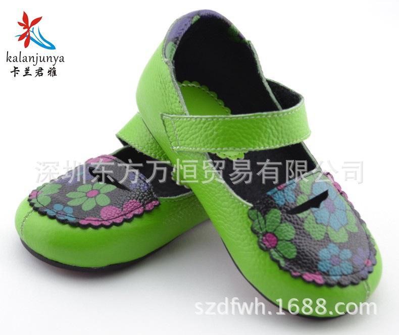 2014春款单鞋 童鞋 真皮童鞋 儿童鞋子 支持混批 批发童鞋