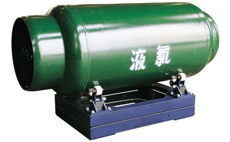 XK3190-C8液氯钢瓶电子秤-宁夏钢地磅秤=防爆气瓶秤瓶