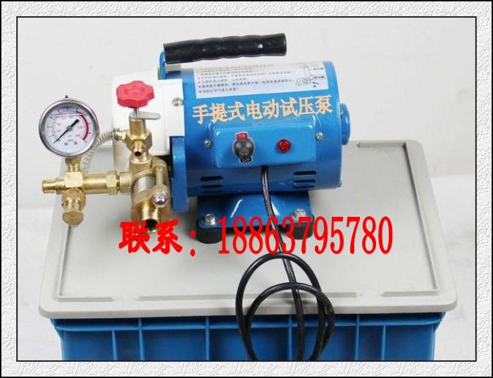 新品DSY-60手提式电动试压泵,便携式电动试压泵报价