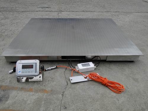 金山500kg300kg不锈钢电子地磅多少钱